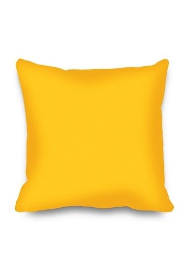 Kozzy Home Dekoratif Yastık Sarı